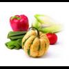 Искусственные фрукты, овощи, грибы, ягоды